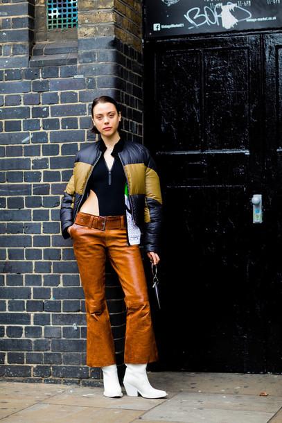 pants, fashion week street style, fashion week 2016 ...