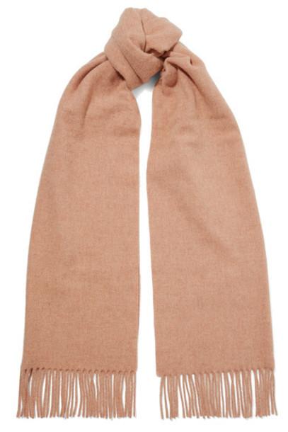 Acne Studios rose scarf wool