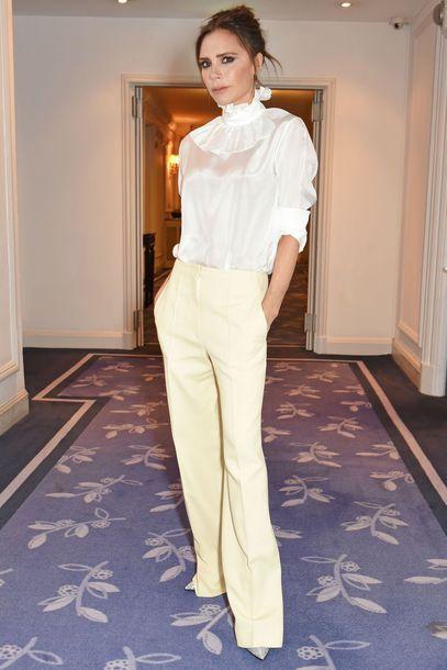blouse pants top victoria beckham