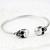Silver Skull Cuff Bracelet - Sheinside.com
