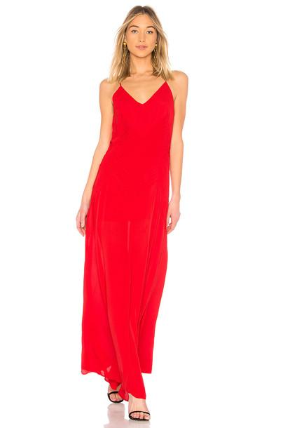 Anine Bing dress red