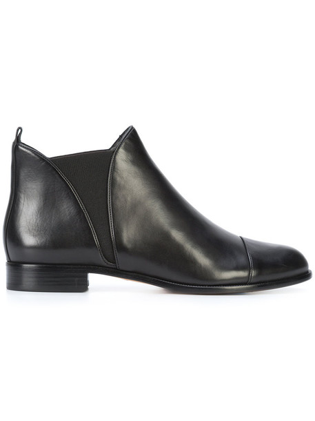 Alexandre Birman women classic ankle boots leather black shoes