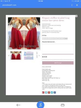 dress prom dress homecoming red gold strapless