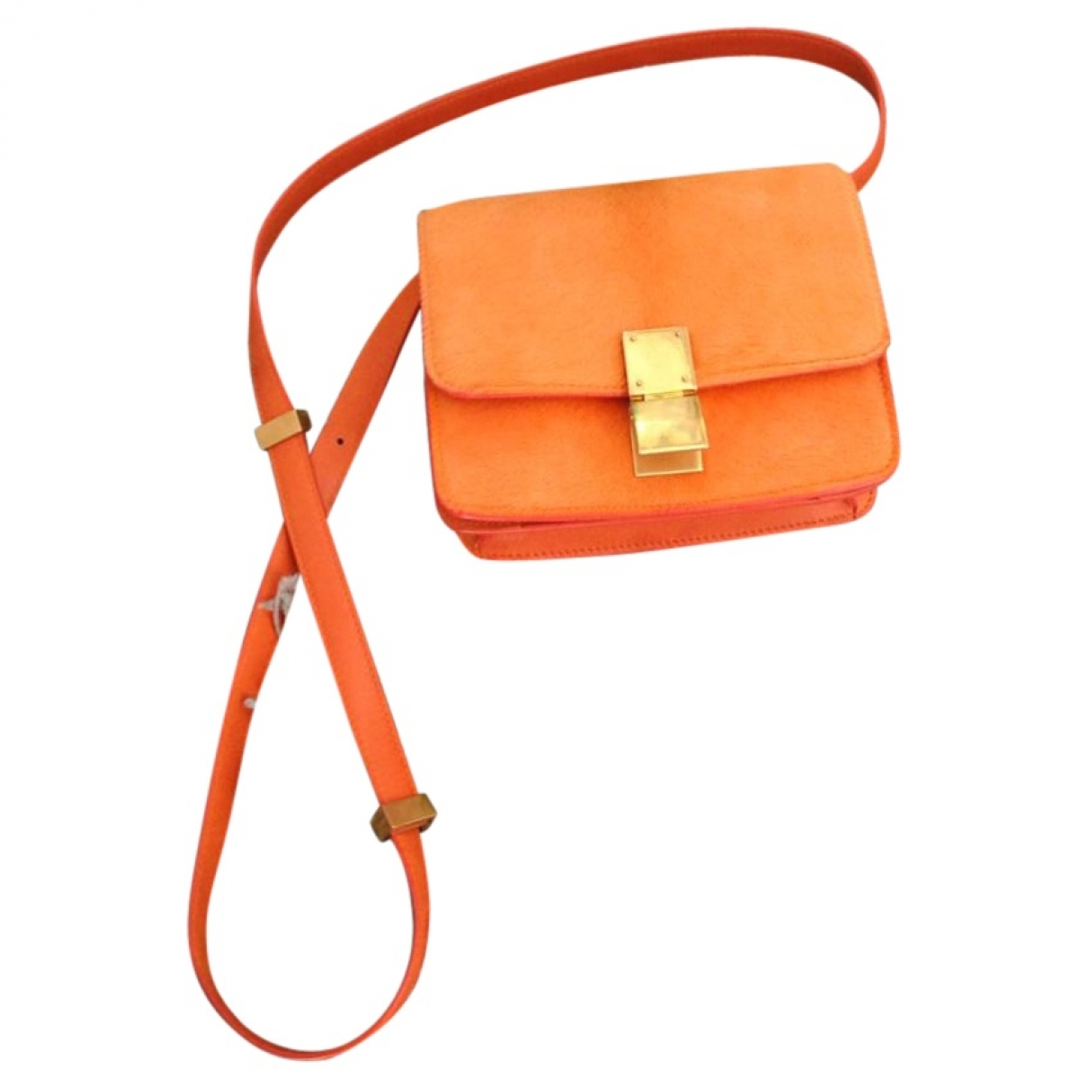 Handbag celine orange
