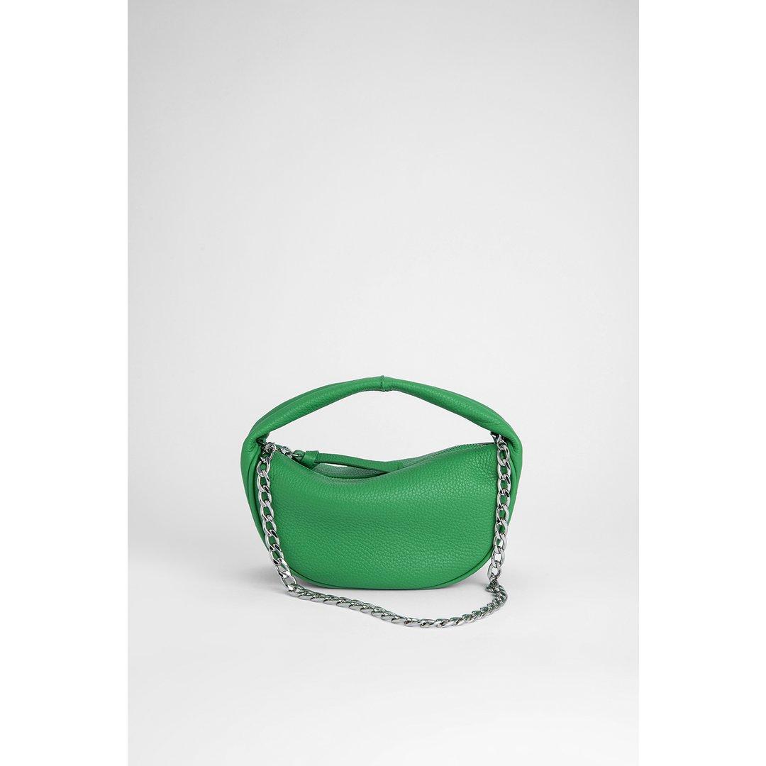 Baby Cush Emerald Flat Grain Leather