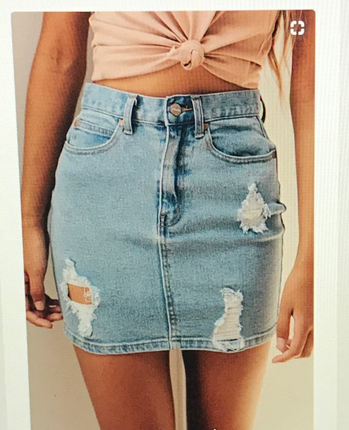 skirt jeans denim denim skirt shirt
