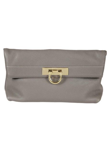 clutch grey bag