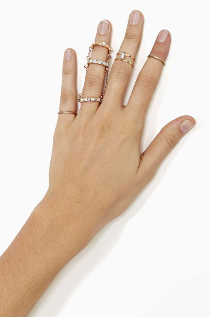 Rina Tiered Ring in  Don't Miss The Perfect 10 at Nasty Gal