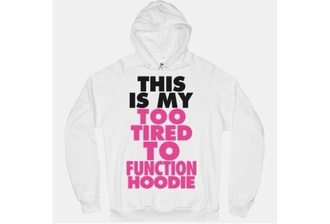 sweater hoodie graphics white black pink
