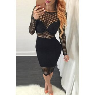 dress mesh see through dress bodycon dress selfie clubwear rose wholesale sexy dress party dress classy fashion girly