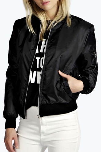 jacket bomber jacket black zaful hipster style black bomber jacket