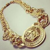 jewels,necklace,gold,chain,coin,pendant