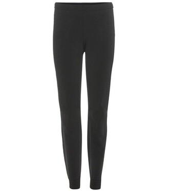 pants track pants black