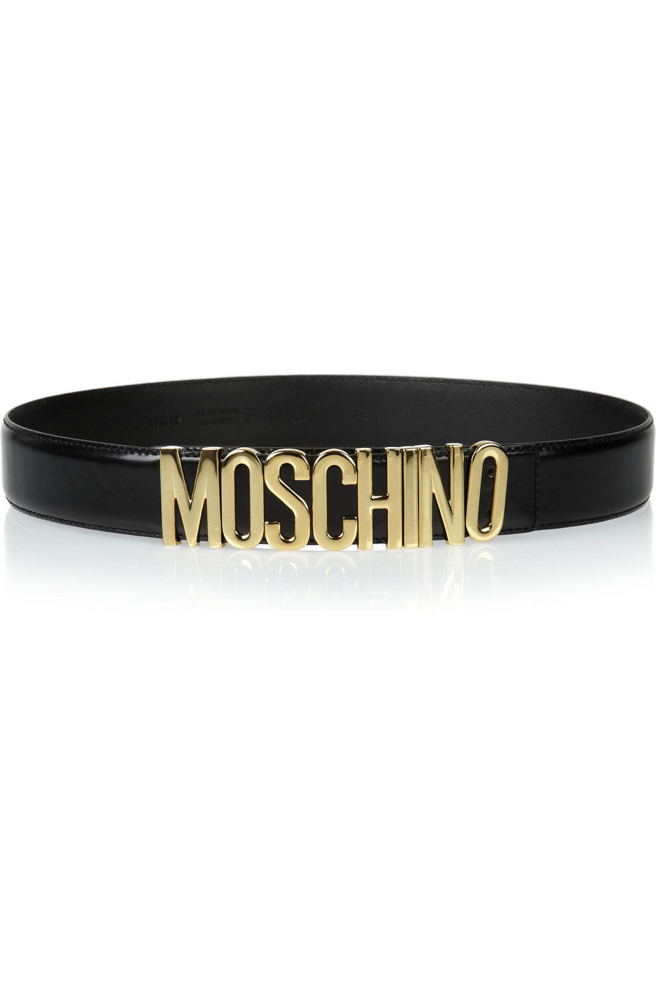 Moschino | Olivia embellished leather waist belt | NET-A-PORTER.COM on Wanelo