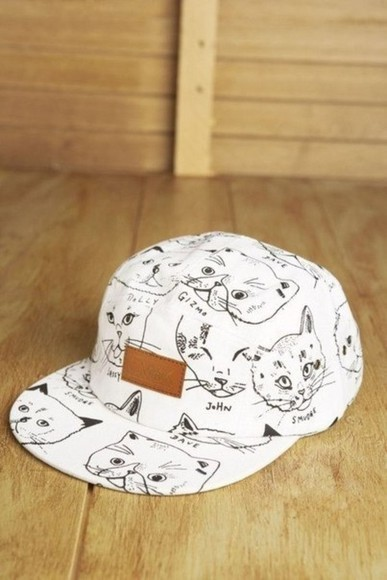 cats cap pussy hat кепка snapback truckerhat lol cats white 5 panel 5 panel cap cute cool tumblr fluffy soft summer outfits winter outfits fall musthave dress