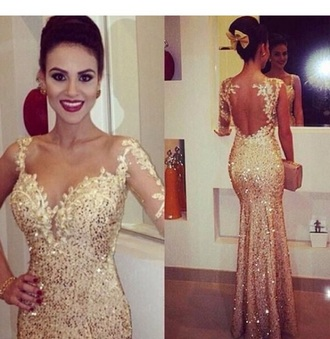 dress prom dress gold sequin sequin dress gold dress gold prom dress
