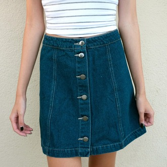 skirt desert rose apparel denim skirt denim 90s style high waisted jeans high waisted skirt