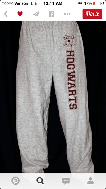 pants hog warts sweatpants