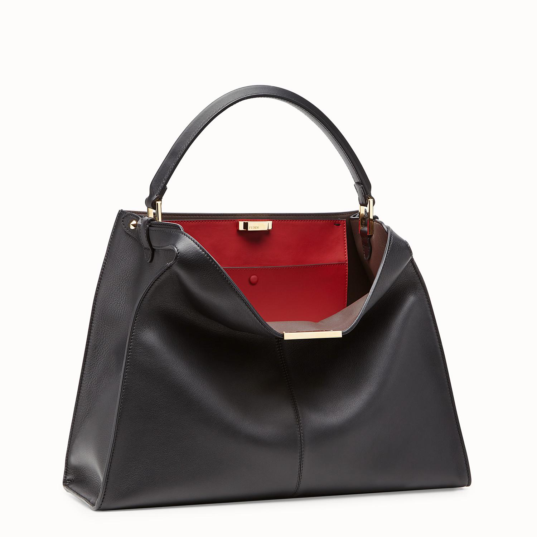 Black leather bag - PEEKABOO X-LITE | Fendi