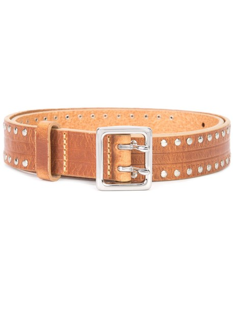 studded belt studded belt brown