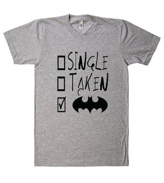 t-shirt shirt quote on it shirtoopia tumblr grey batman funny