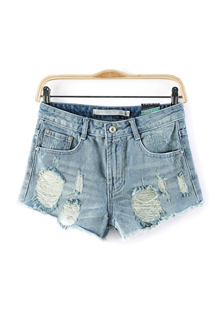 Fashion Hole Shorts|Disheefashion