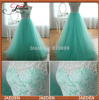 buttons lace dress prom dress tulle skirt tulle dress a-line dresses party dress evening dress green dress white lace dress