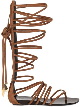 shoes brown gladiator sandal.