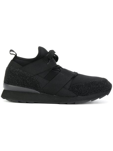 Hogan women sneakers black shoes