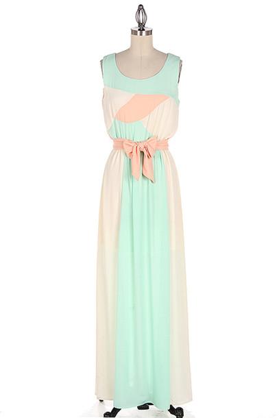 dress maxi maxi dress spring dress mint dress mint maxi dress