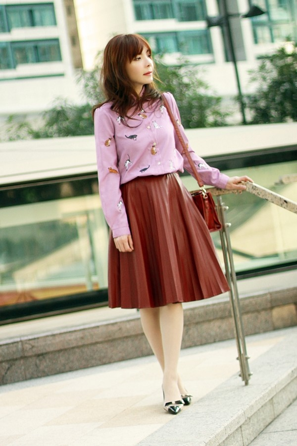 mochaccinoland shirt jacket skirt shoes