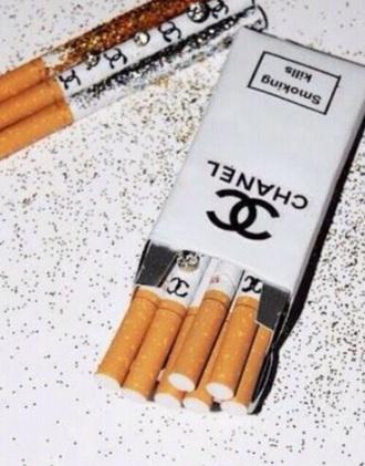 home accessory chanel real ciggerette coco chanel cigarettes