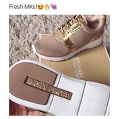 shoes,michael kors,michael kors shoes,gold,mk shoes