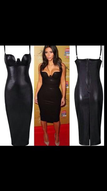 dress keeping up with the kardashians black dress little black dress bodycon dress body