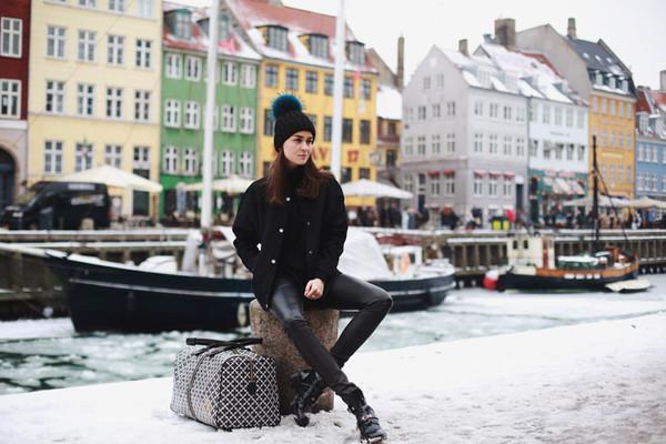 style scrapbook bag pants jacket shoes hat