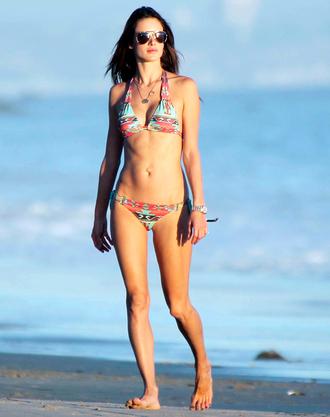swimwear bikini alessandra ambrosio