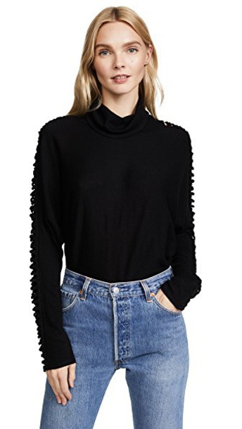 Ella Moss top black
