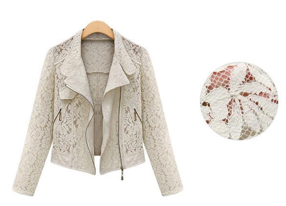 Claudette lace jacket