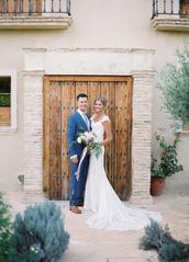 dress,wedding dress,wedding,ruffled blog,blogger,jewels,groom wear,wedding clothes