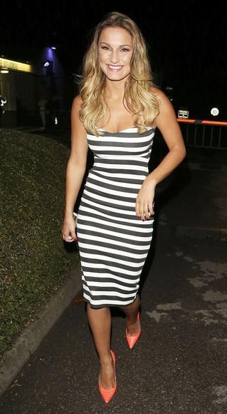 dress stripes stripe dress sam faiers