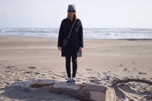 jane's sneak peak blogger coat shirt jeans hat shoes bag