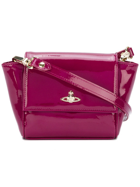 women clutch leather purple pink bag
