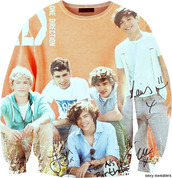 sweater,one direction