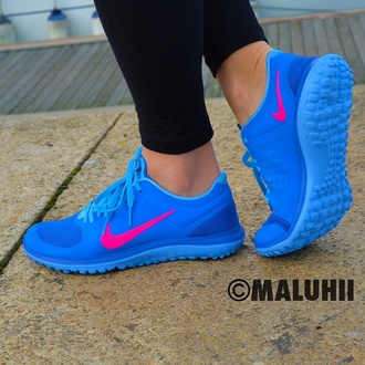 bright nike trainers