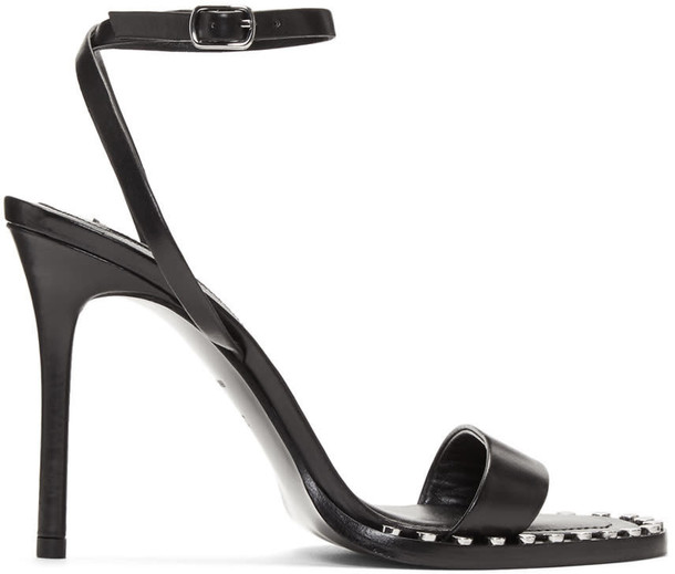 Alexander Wang sandals black shoes