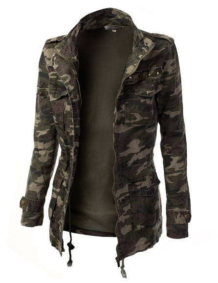 jacket brown jacket brown green military green jacket camouflage camo jacket