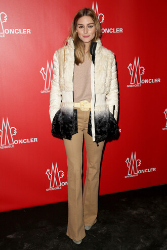 jacket pants fashion fashion week 2015 olivia palermo