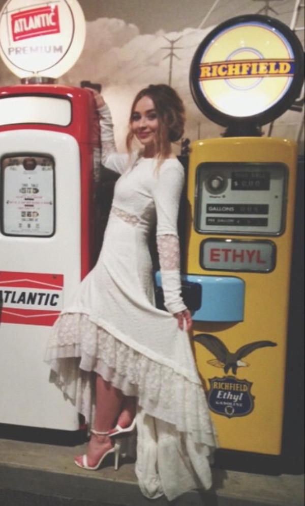 Dress White Dress Sabrina Carpenter White Elegant