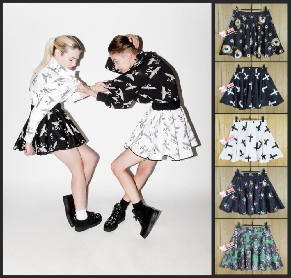 Europe and the US Harajuku boy london eagle eye cross loose camouflage pattern tutu skirts free shipping-in Apparel & Accessories on Aliexpress.com