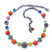 jewels,siggy jewelry,necklace,jewelry,statement necklace,colorful,swag,style,fashion,bling,sparkle,bright,flower necklace,summer outfits,summer jewelry,fashion jewelry,spring outfits,gift ideas,mothers day gift idea,summer accessories,etsy,diva